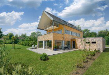 Baufritz: Mehrfamilienhaus Erstling