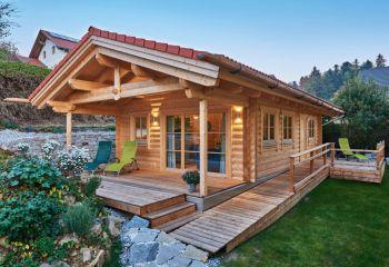 Echte Blockhaus-Romantik
